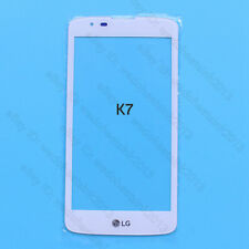 White Front Outer Lens Glass Touch Screen for LG K7 K330 MS330 LS670 LS675