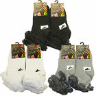 3 / 6 Pairs Kids Girls Cotton Rich Lace Top ,White Grey Black Ankle School Socks