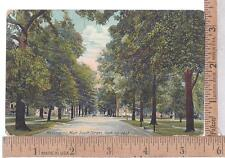 1911 USED POST CARD SOUTH STREET LOOKING EAST, KALAMAZOO, MI