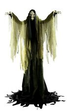 Life-Sized Hagatha the Towering Witch Animated Prop HALLOWEEN Decoration