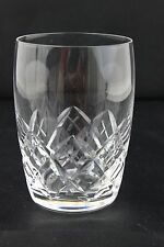 Stuart Crystal Canon Pattern Old Fashioned Tumbler 8.5cm H x 5.8cm D SIGNED