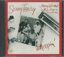 CD: SONNY TERRY w/Johnny Winter & Willie Dixon - Whoopin'