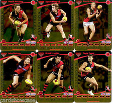 2012 AFL Teamcoach Gold Parallel Team set Essendon (12)