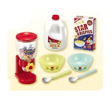"RE-MENT ""USA Kitchen #1-Breakfast Cereal,""1:6 Barbie size kitchen food minis"