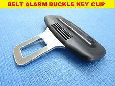 FIAT BLACK SEAT BELT ALARM BUCKLE KEY CLIP SAFETY CLASP STOP *UK SELLER*