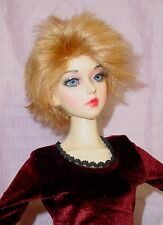 "Doll Wig size 8/9, fits Soah, Cissy, Lin Lan, more Synthetic Mohair "" Frankie """