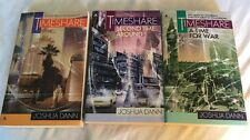 Joshua Dann: Timeshare, Second Time Around & A Time For War 3 SF PBs Time Travel