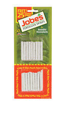 NEW! JOBE'S House Plant Fertilizer Spikes 50-Pack 13-4-5 Year Round 05001T