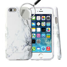 iPhone 6 Case, GMYLE Hybrid Case Slide for iPhone 6 - Marble Pattern