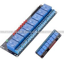 5V 8 Channel Relay Module Shield for Arduino Uno Meage 2560 1280 ARM PIC AVR DSP