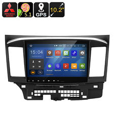 Mitsubishi Lancer 2 DIN Car Media Player - Android 5.1.1, Quad-Core CPU, 10.2-In