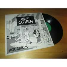DAVID COHEN - aquarium - FRENCH FOLK ROCK - REM Lp 1981