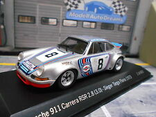 Porsche 911 carrera rsr 2.8/3.0 Targa Florio winner 1973 Dirty #8 Spark 1:43