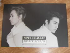 SUPER JUNIOR D&E THE BEAT GOES ON (TYPE B) [ORIGINAL POSTER] DONGHAE&EUNHYUK