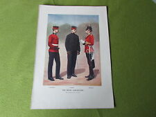 El Royal Lancasters Gregory & Co London Vintage Boer War impresión C1900