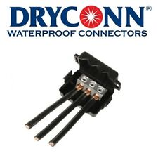 (3) Dryconn DB Power Connect Waterproof Connectors 98105 - NEW
