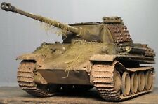 "1/35  Built  PzKpfw V ""Panther"" Ausf. G with additional anti-aircraft armour"