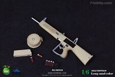 *Brand New* COO Models 1/6 Scale AA12 Shotgun - Long Sand Color *US Seller*