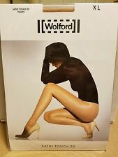 Wolford Satin Touch 20 Tights, Gobi, XL
