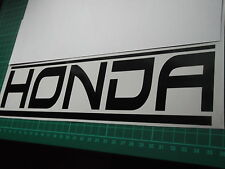 HONDA panel skirt car vinyl sticker decal x2