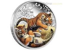 50 cents The Cubs Tiger Tuvalu 1/2 oz .999 fine Silver 2016 Proof