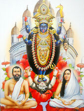 Goddess Kali poster-reprint on paper-(20X16 inches) #2254