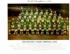 PHILADELPHIA EAGLES 8X10 TEAM PHOTOS LOT OF 4  1948 1949 1950 1958 FOOTBALL