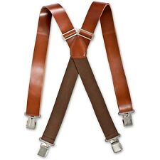 Brimarc Leather Braces AP501310 35mm Mens Heavy Duty Braces