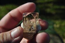 Terminated Topaz w/fluorite from Pakistan untreated water clear 35.3g 176cts