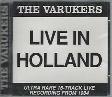 THE VARUKERS - LIVE IN HOLLAND - (still sealed cd) - STEP CD 101