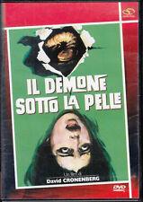 Il demone sotto la pelle - David Cronenberg DVD