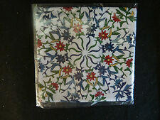 Fancy All-over Floral Print Fine Handkerchief   NIP  Brot from Japan
