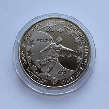 UEFA EURO 2012 Ukraine - Poland Coin Token Medal Lviv Sport Football Soccer