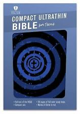 HCSB Compact Ultrathin Bible for Teens, Blue Vortex LeatherTouch by B&H Kids...