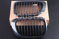CARBON KIDNEY GRILLS FOR BMW E46 3 SERIES 2 DOOR 1999 - 03 COUPE CONVERTIBLE M3