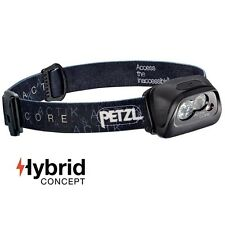 Petzl ACTIK CORE Black Headlamp 350 lumens 2017 with Rechargeable Battery or AAA