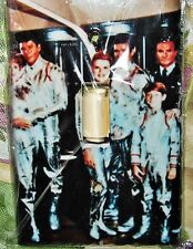 """LOST in SPACE CLASSIC & UNIQUE!!!! **** LIGHT SWITCH PLATE**** """"CREW"""" ** MIP!!**"""