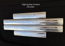 Peugeot 206 307 406 407 308 408 5 door stainless steel door sill scuff plates