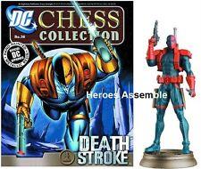Dc Superhero Ajedrez Estatuilla De Colección # 36 Deathstroke Eaglemoss Justice League