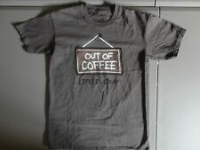 Brown Life is Crap Out of Coffee T Shirt Adult S novelty gag  Free US Shipping