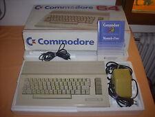 ( C64 ) COMMODORE 64 C. CON SCATOLA, POLISTIROLO E MANUALE. FUNZIONANTE.