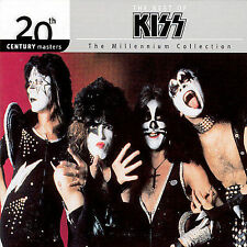 1 CENT CD 20th Century Masters: Millennium Collection - Kiss SEALED/BEST/DIGIPAK