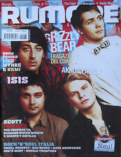 RUMORE 208 2009 Grizzly Bear Isis Akron/Family Guillermo Scott Herren Small Jack
