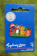 #P276.  MASCOT  CHRISTMAS   SYDNEY 2000 OLYMPIC PIN