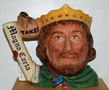 Grand royal doulton character pichet king john D7125 *** limited edition ***