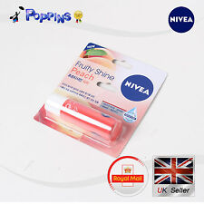 New Genuine Nivea Lip Balm Fruity Shine Peach