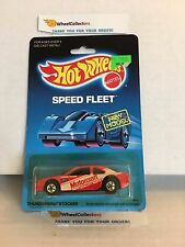 #9 Thunderbird Stocker 4916 * Red * 1988 Malaysia * Vintage Hot Wheels * E31