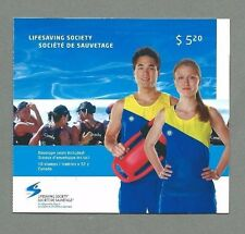 CANADA 2008 Booklet - LIFESAVING SOCIETY - 10 x 52c. - Complete - MNH