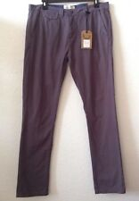Mens Gray Pants by Brave Soul W38 x L36 100% Cotton New w/Tag