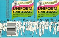 Label-ABRA CADABRA stain remover,Fast Chemical Products,FL.original=melaneybuy